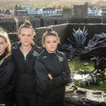 Celtic Dragons Media day - Saturday 10th November  2018 - Caerphilly Castle  - Caerphilly  © www.sportingwales.com- PLEASE CREDIT IAN COOK
